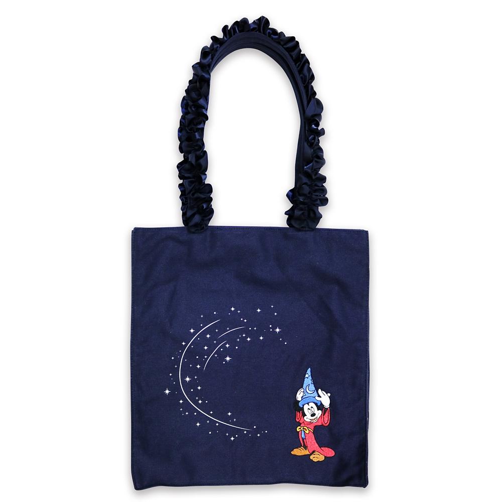 【メゾン ド フルール】MickeyMouse/Fantasiaスクエアトートバッグ【受注商品】