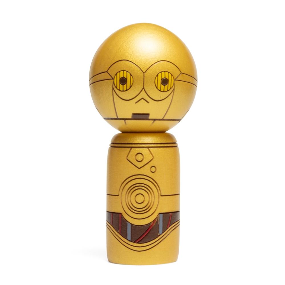 【卯三郎こけし】こけし C-3PO スター・ウォーズ