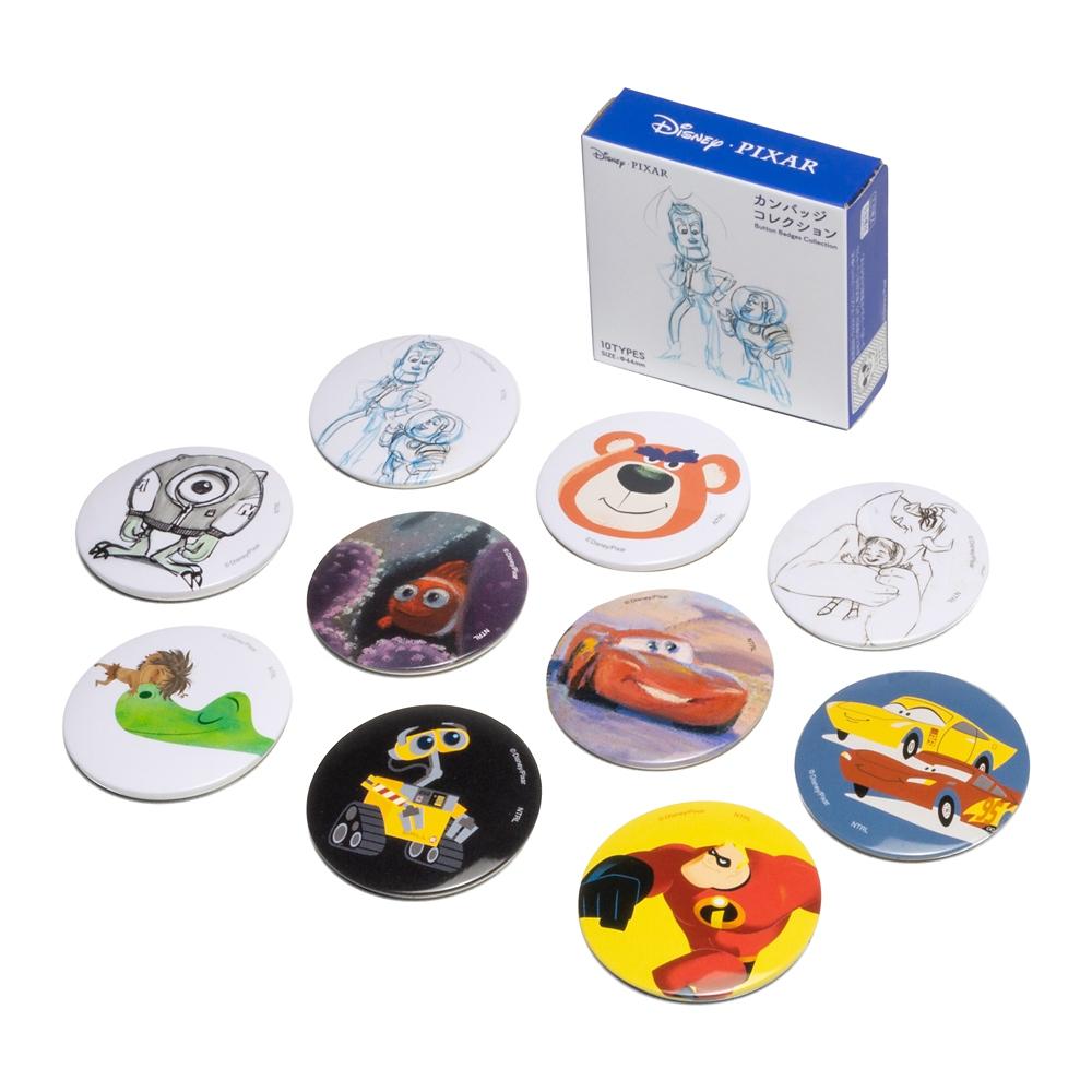 ディズニーカンバッジコレクション ブラインド ピクサーシリーズ