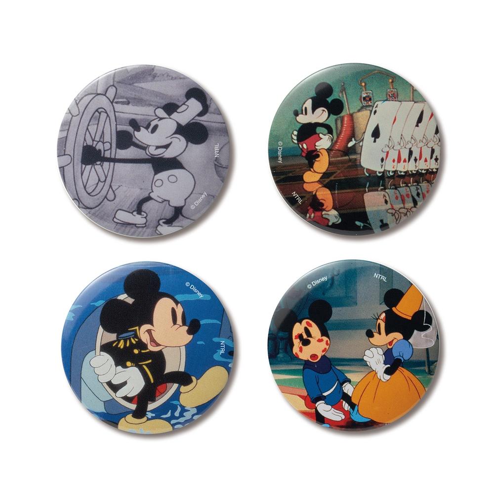 カンバッジバッチコレクション ミッキーマウス コンプリートセット
