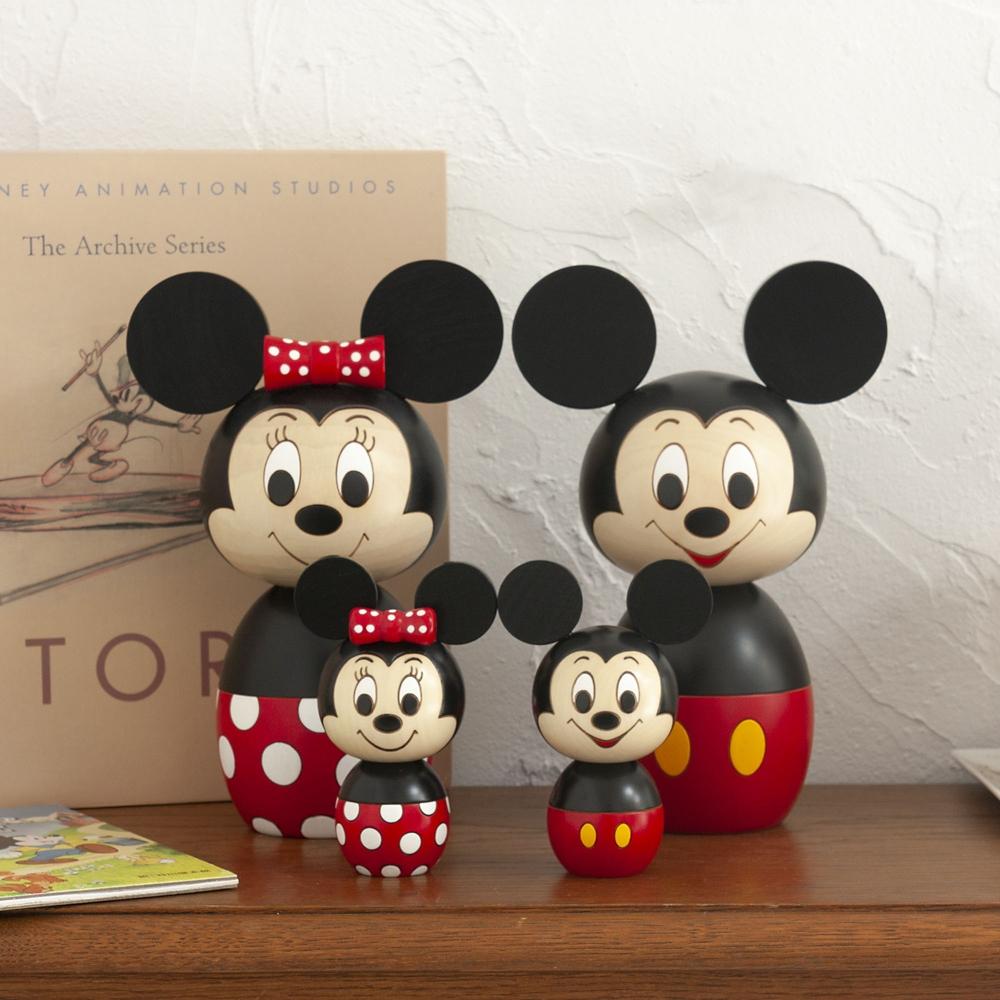 【送料無料】【卯三郎こけし】特大こけし ミッキーマウス