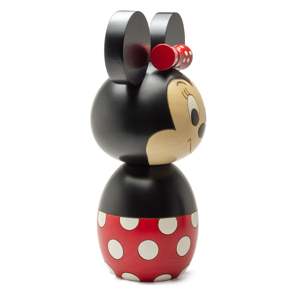 【送料無料】【卯三郎こけし】特大こけし ミニーマウス