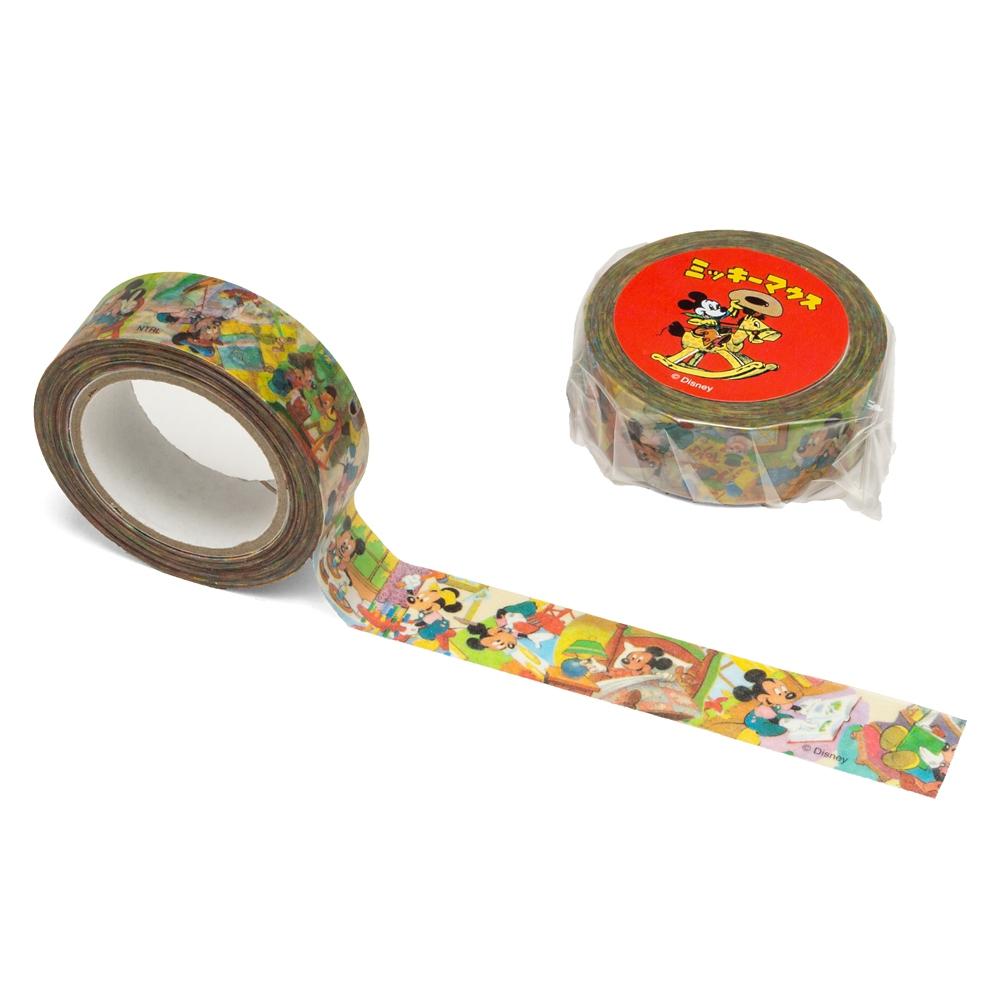マスキングテープ ミッキーマウス 復刻絵本シリーズ