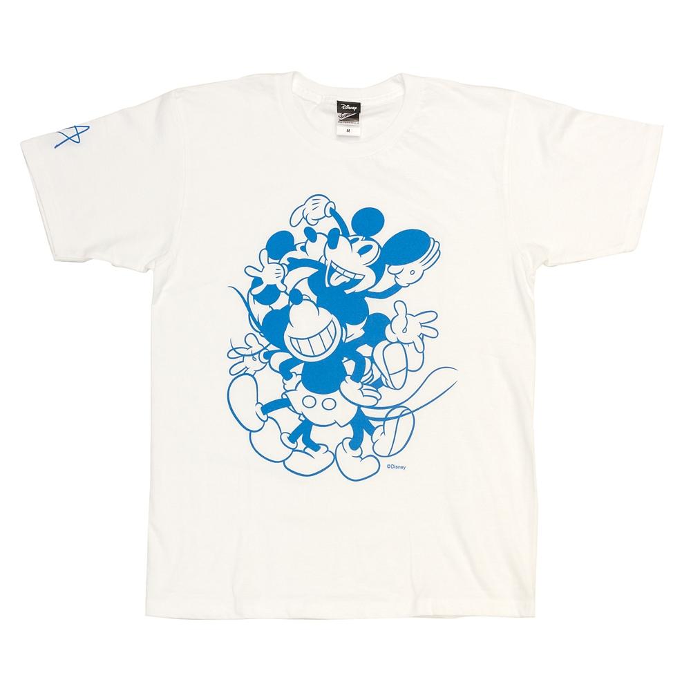 Tシャツ ミッキーマウス  ホワイトL