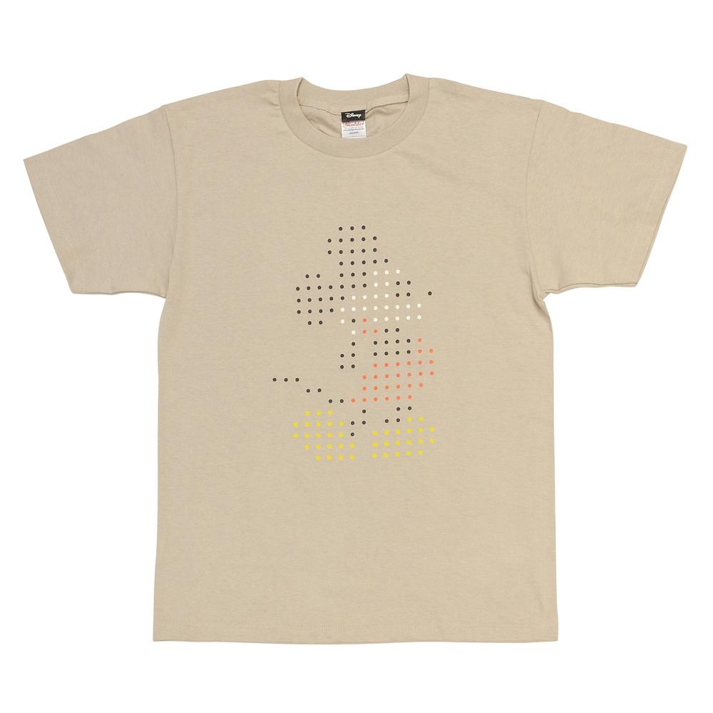 Tシャツ ミッキーマウス ドットL