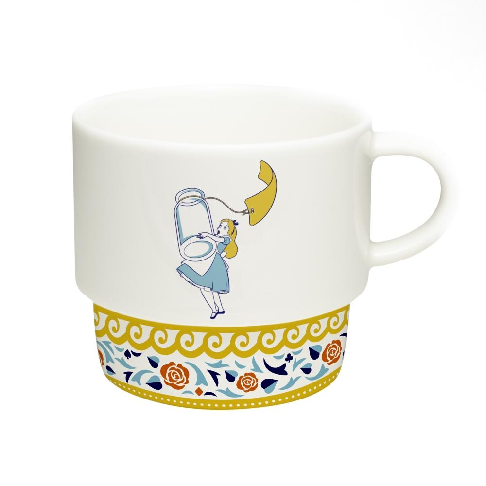 shopDisney先行販売・陶器シリーズ セラミックスマグカップ 不思議の国のアリス