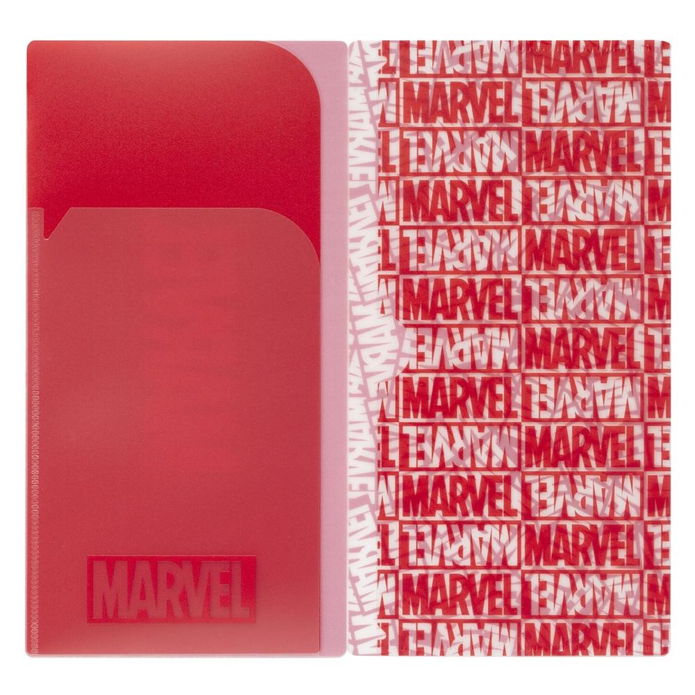 マスクケース MARVEL Red