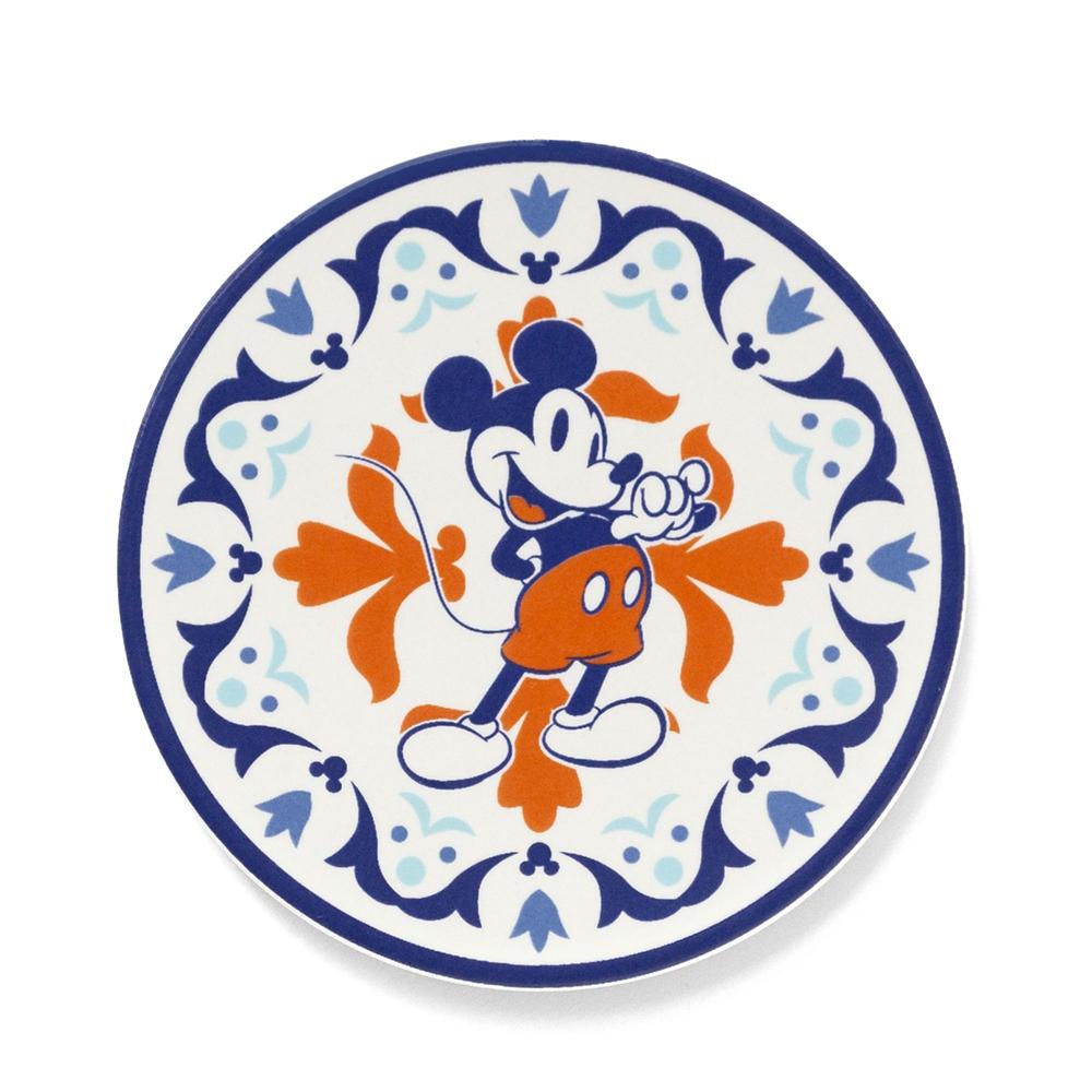 shopDisney先行販売・陶器シリーズ セラミックスコースター ミッキーマウス