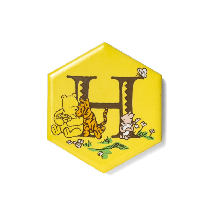 shopDisney先行販売・ハチミツの日シリーズ ハニカムタイル(H)くまのプーさん