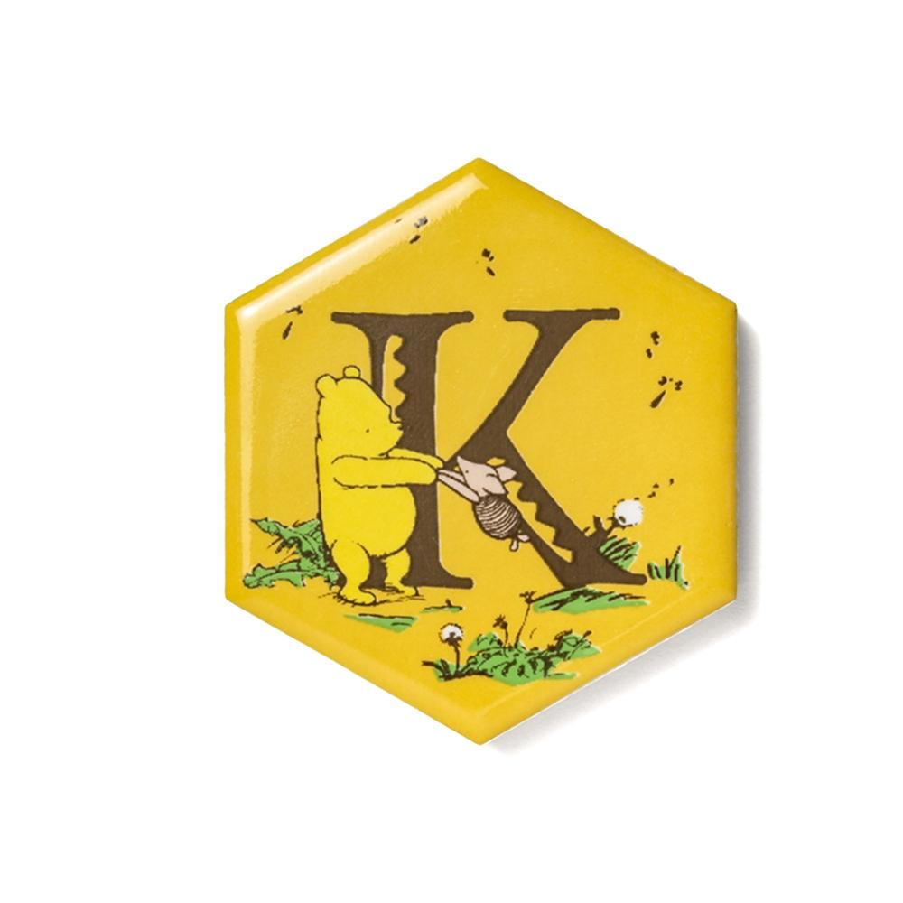 shopDisney先行販売・ハチミツの日シリーズ ハニカムタイル(K)くまのプーさん
