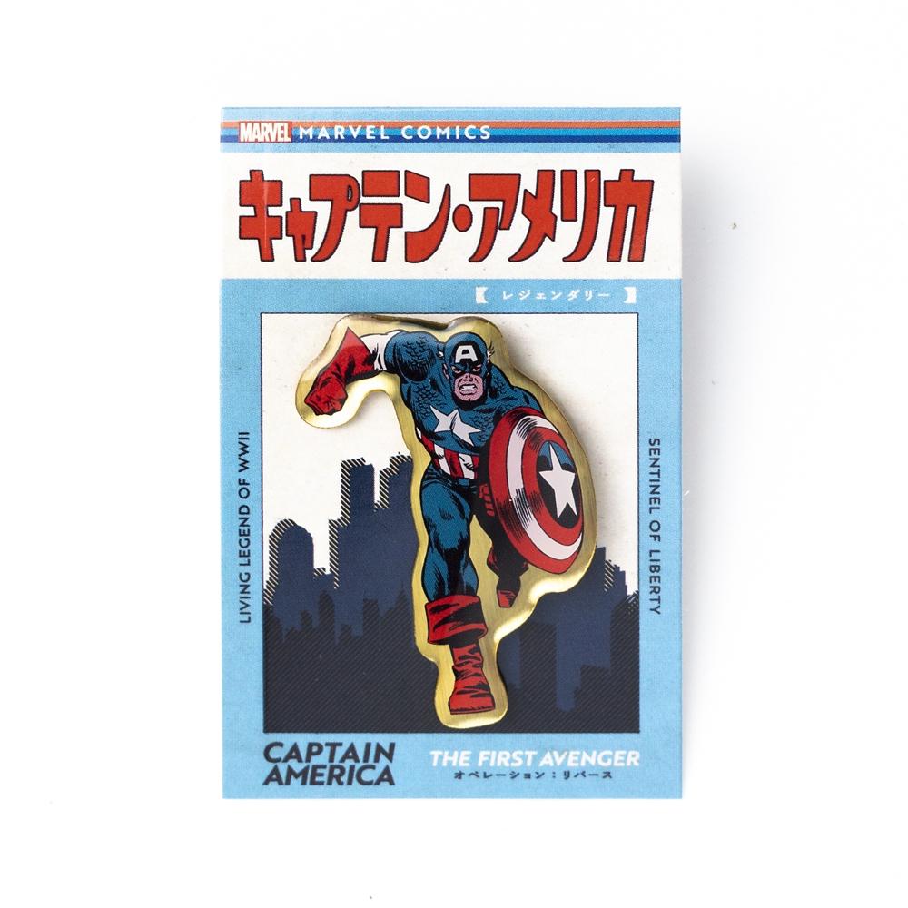 エポ盛りピンバッジ キャプテン・アメリカ