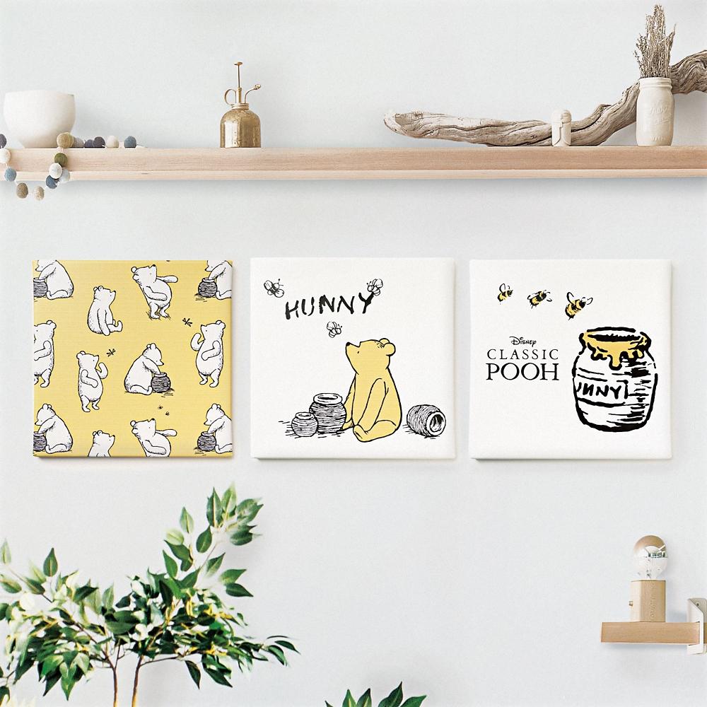 shopDisney先行販売・ハチミツの日シリーズ くまのプーさんのファブリックパネル「プーさんとミツバチ」