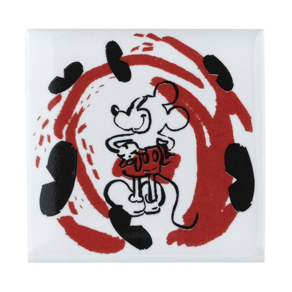 キャラクタータイル ミッキーマウス ブラシアート
