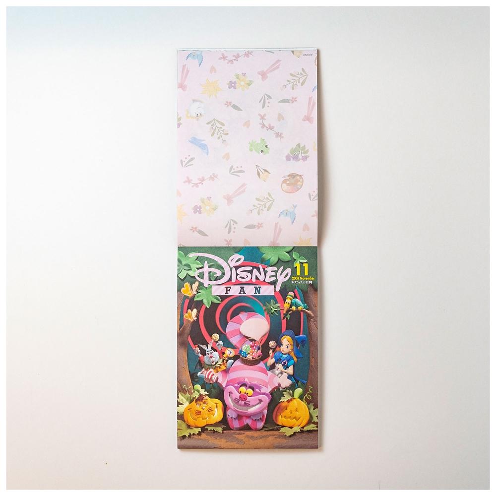ディズニーキャラクター メモ帳 B Disney FAN 30th anniversary