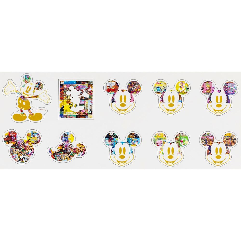 ミッキー シール・ステッカー フレーク A Disney FAN 30th anniversary