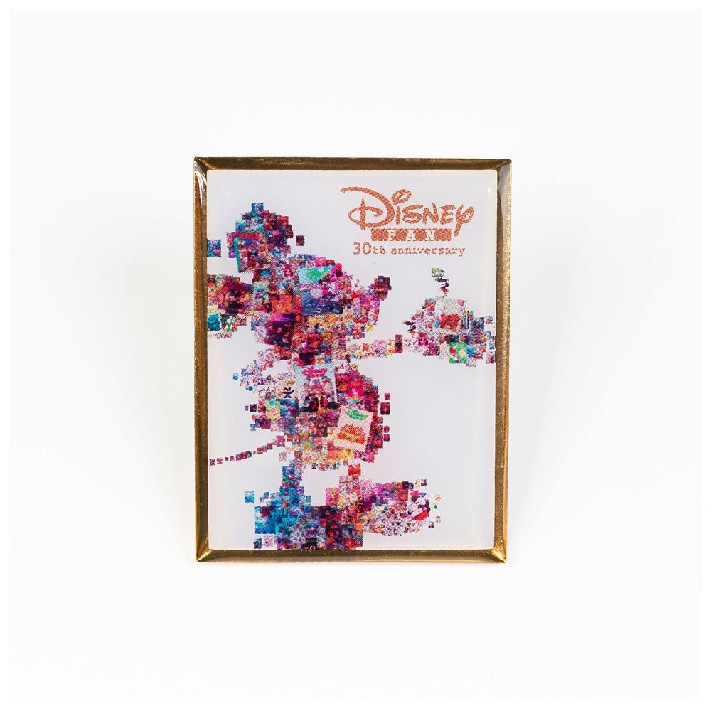 ミッキー ピンバッジ A Disney FAN 30th anniversary