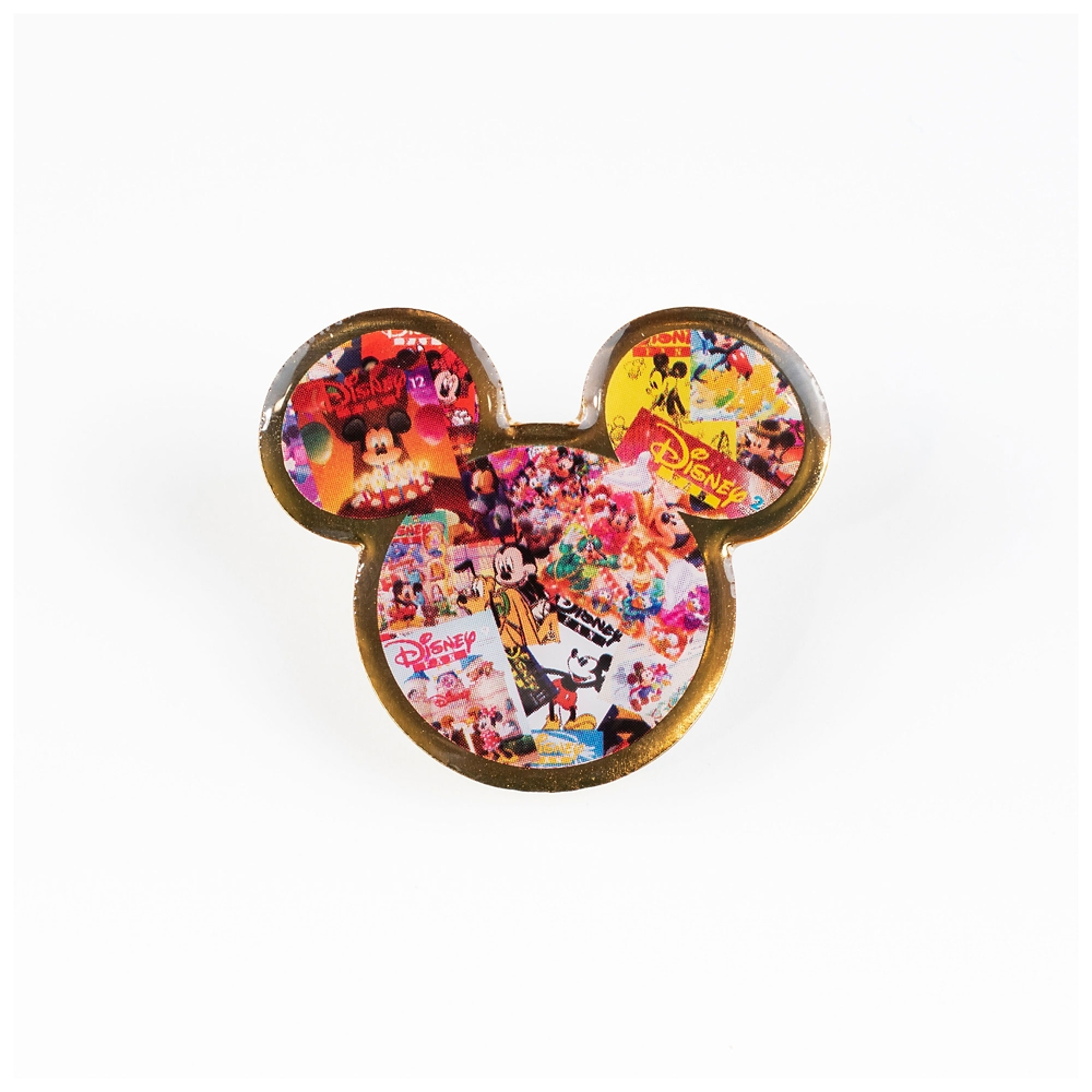 ミッキー ピンバッジ D Disney FAN 30th anniversary