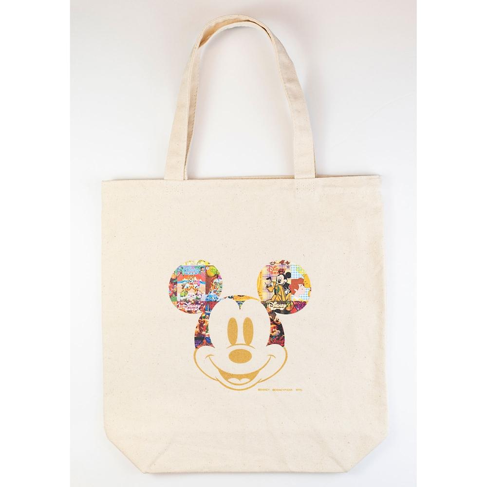 ミッキー トートバッグ Disney FAN 30th anniversary