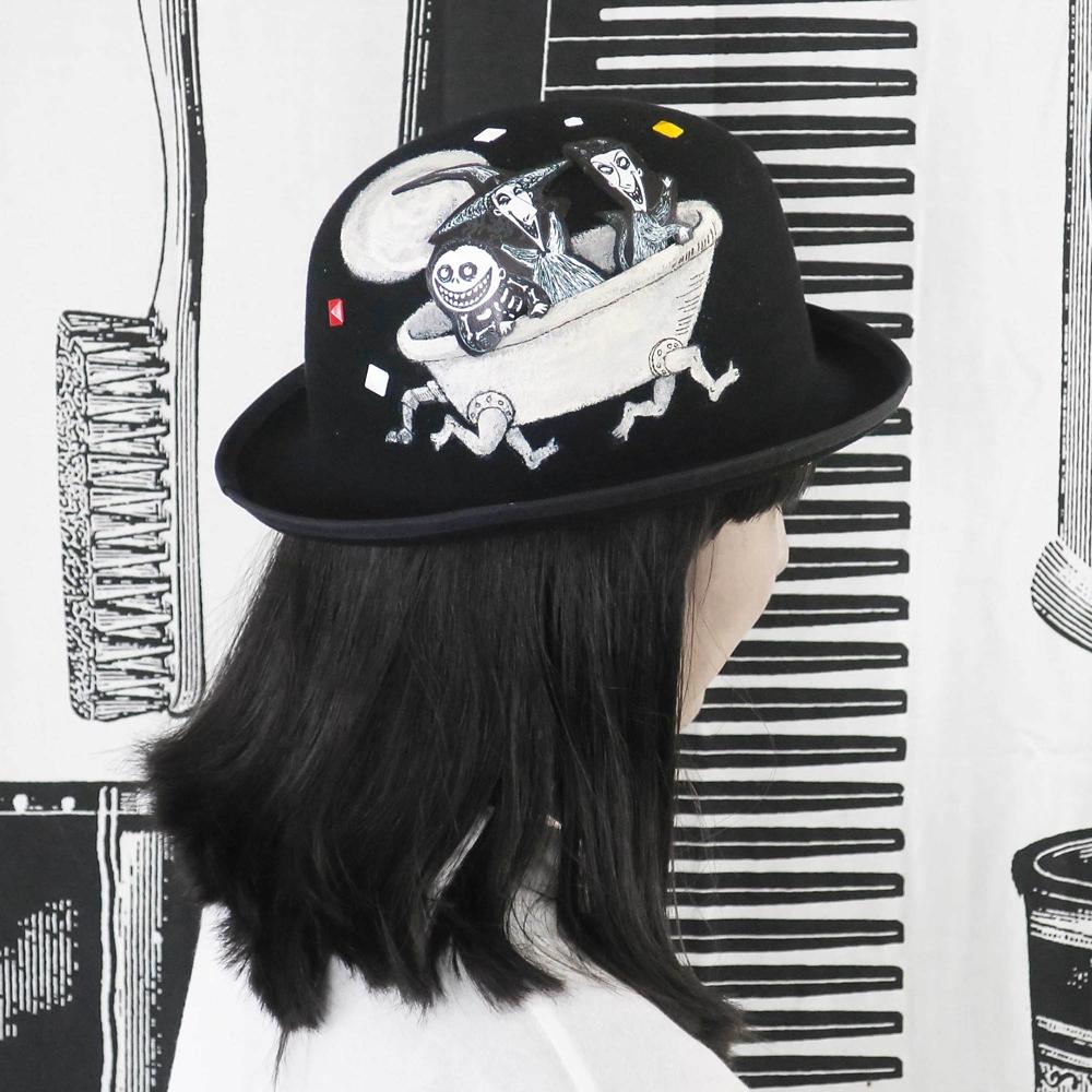 HAT【Lock&Shock & Barrel】ナイトメアー・ビフォア・クリスマス