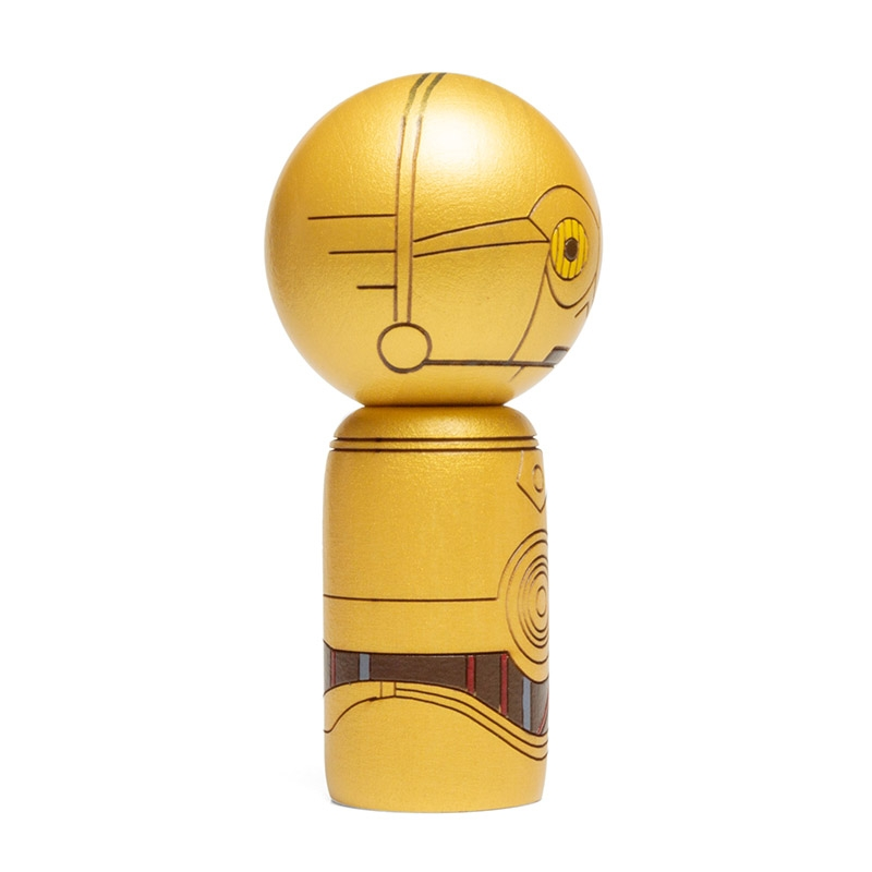 【数量限定】卯三郎こけし C3-PO&R2-D2 セット