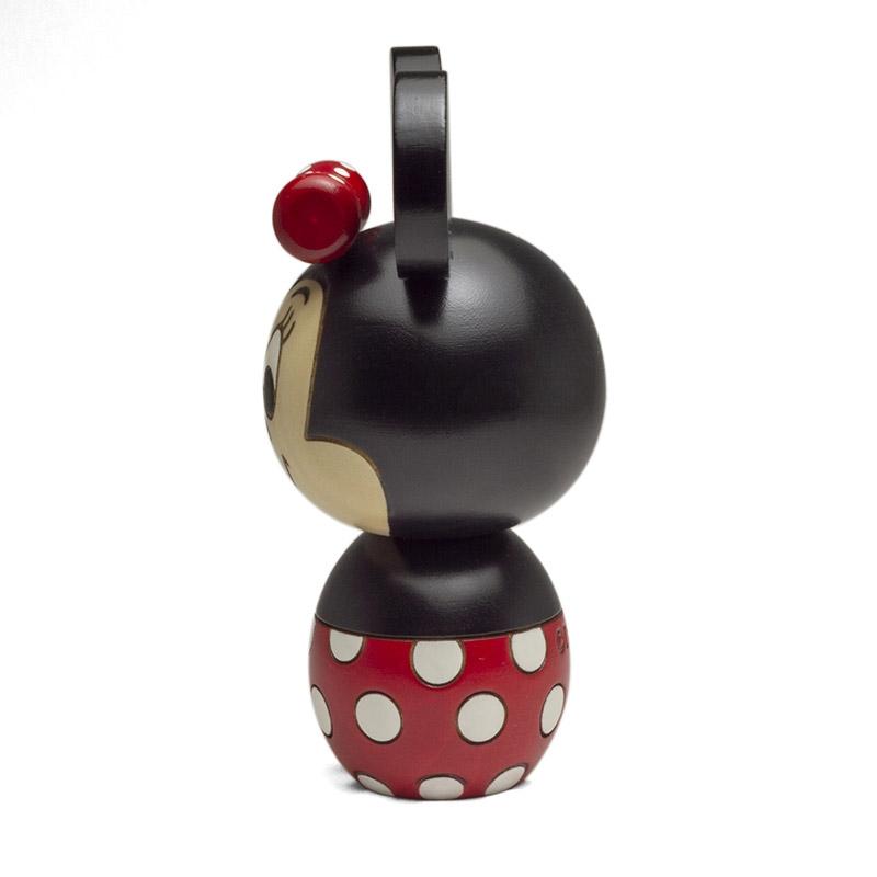 【数量限定】卯三郎こけし ミッキーマウス&ミニーマウス セット