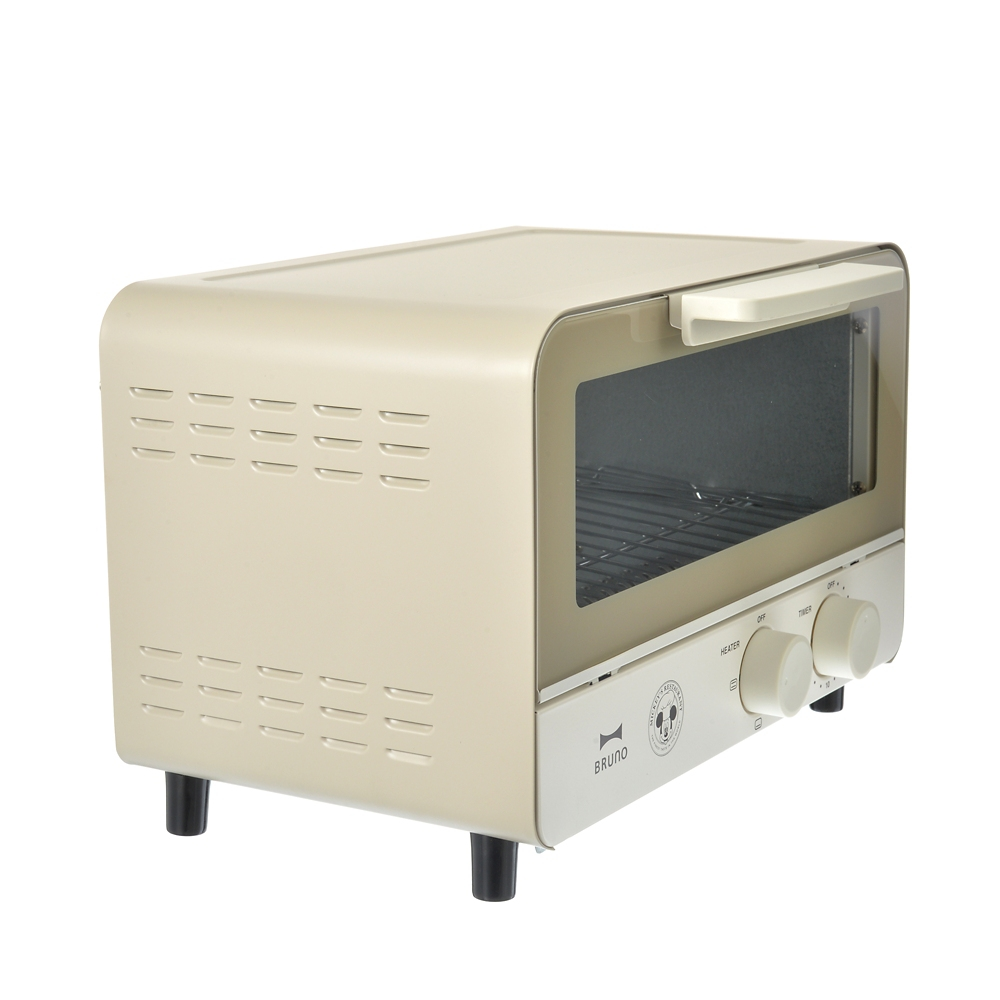 【送料無料】【BRUNO】ミッキー オーブントースター ウォームグレー Retro Kitchen