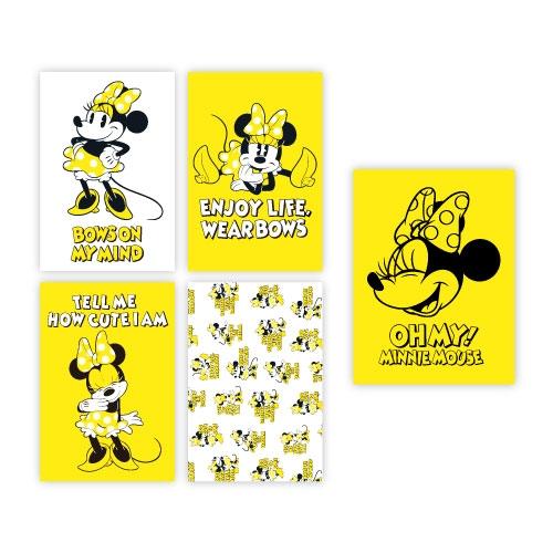 【OH MY CAFE】 ミニーマウス ポストカード4枚セット