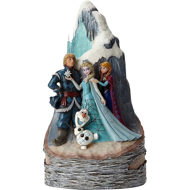 【enesco】アナと雪の女王 フィギュア 氷の城 DISNEY TRADITIONS