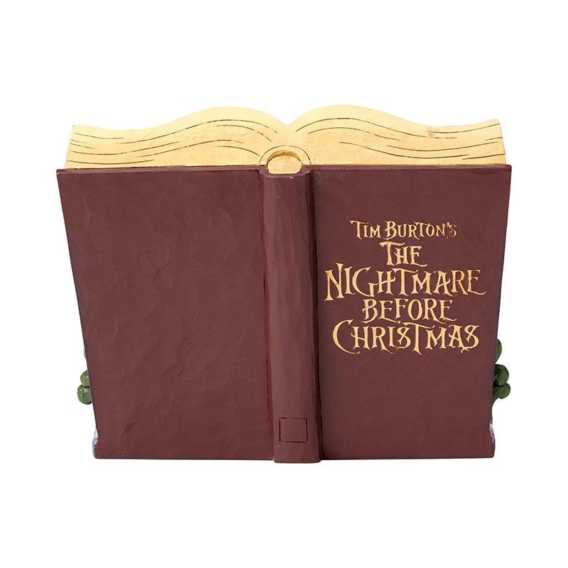 【enesco】ナイトメアー・ビフォア・クリスマス フィギュア ストーリーブック DISNEY TRADITIONS