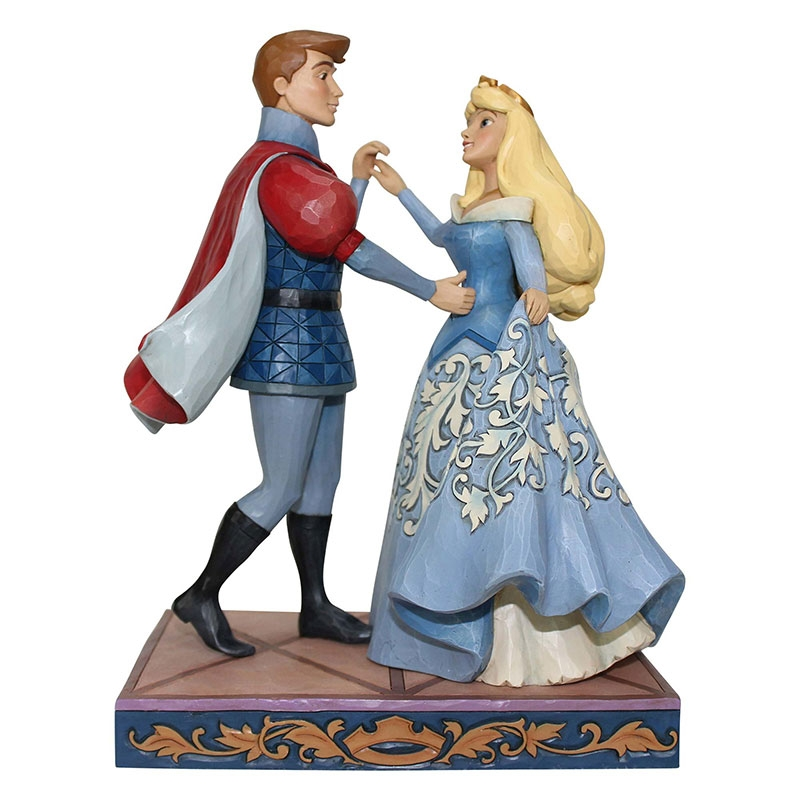 【enesco】オーロラ姫&フィリップ王子 フィギュア 眠れる森の美女  DISNEY TRADITIONS