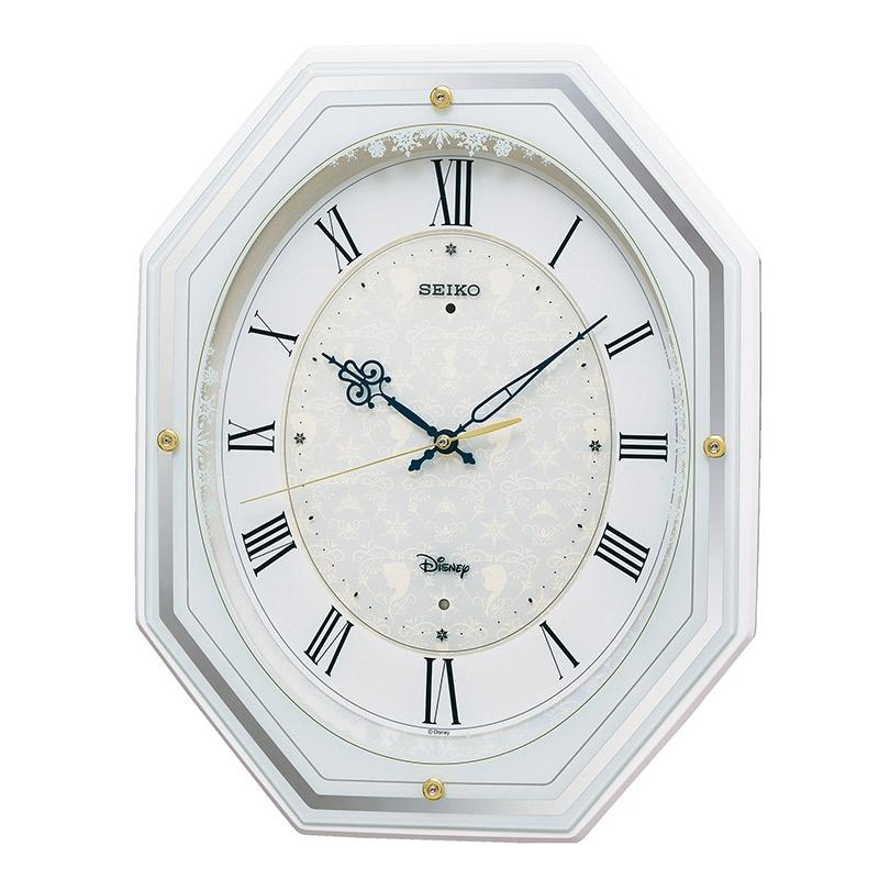 【送料無料】【セイコークロック】アナと雪の女王 掛時計 大人ディズニー アミューズ時計