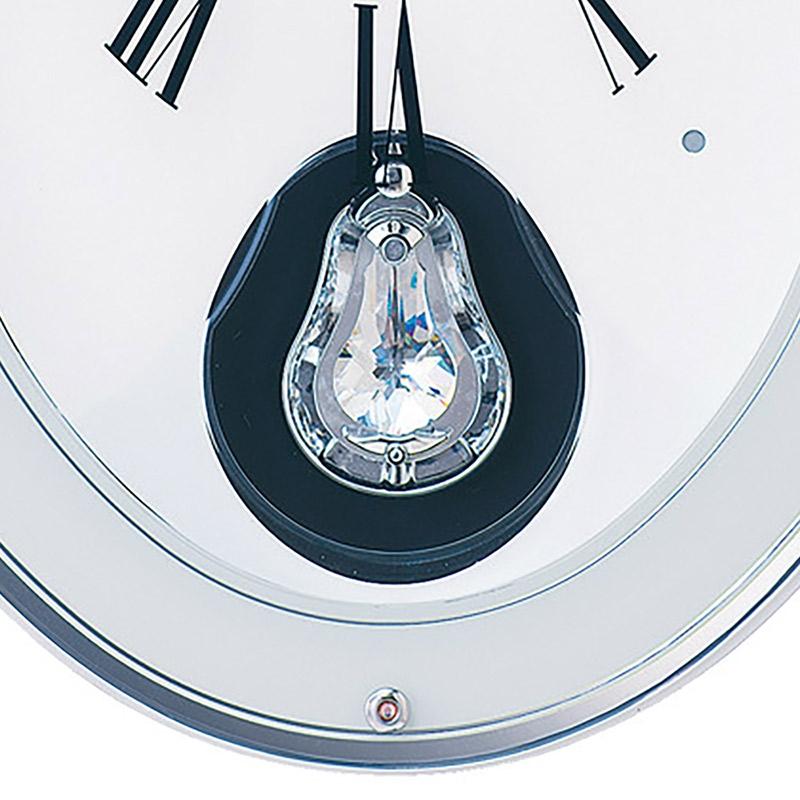【セイコークロック】ミッキー&ミニー 掛時計 Kiss & Heart  大人ディズニー アミューズ時計