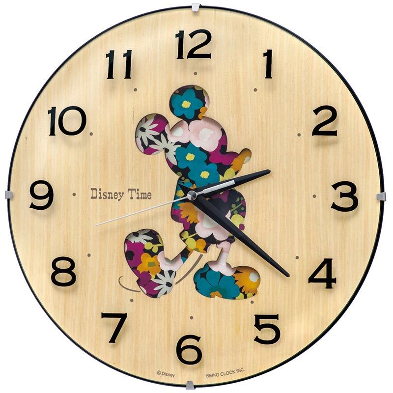 【セイコークロック】ミッキー 掛時計