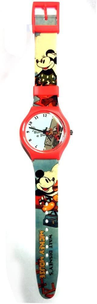 ディズニー ミッキービルディング 腕時計 男女共用