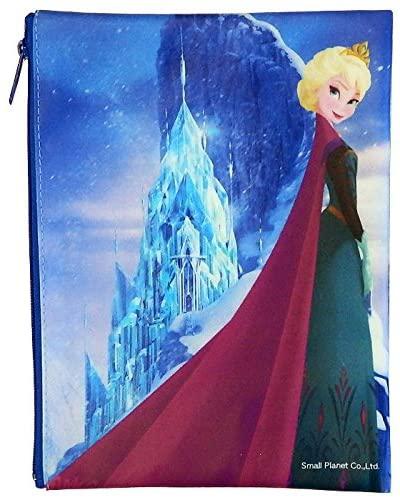 アナと雪の女王 フラットポーチ エルサいっぱい