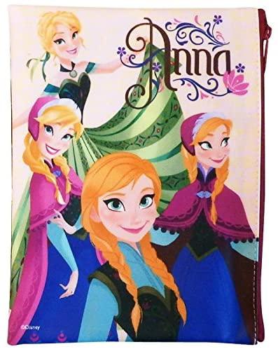 『アナと雪の女王』 フラットポーチ アナいっぱい