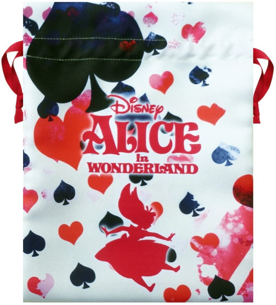 ディズニー トラベル巾着 ふしぎの国のアリス アリストランプ S-size