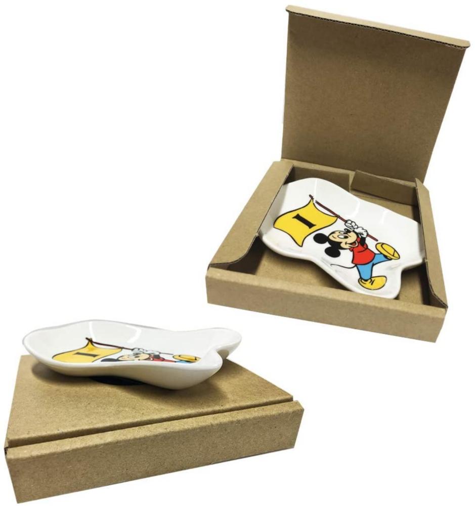 ノスタルジカ 変型小皿ミッキーフラッグ1