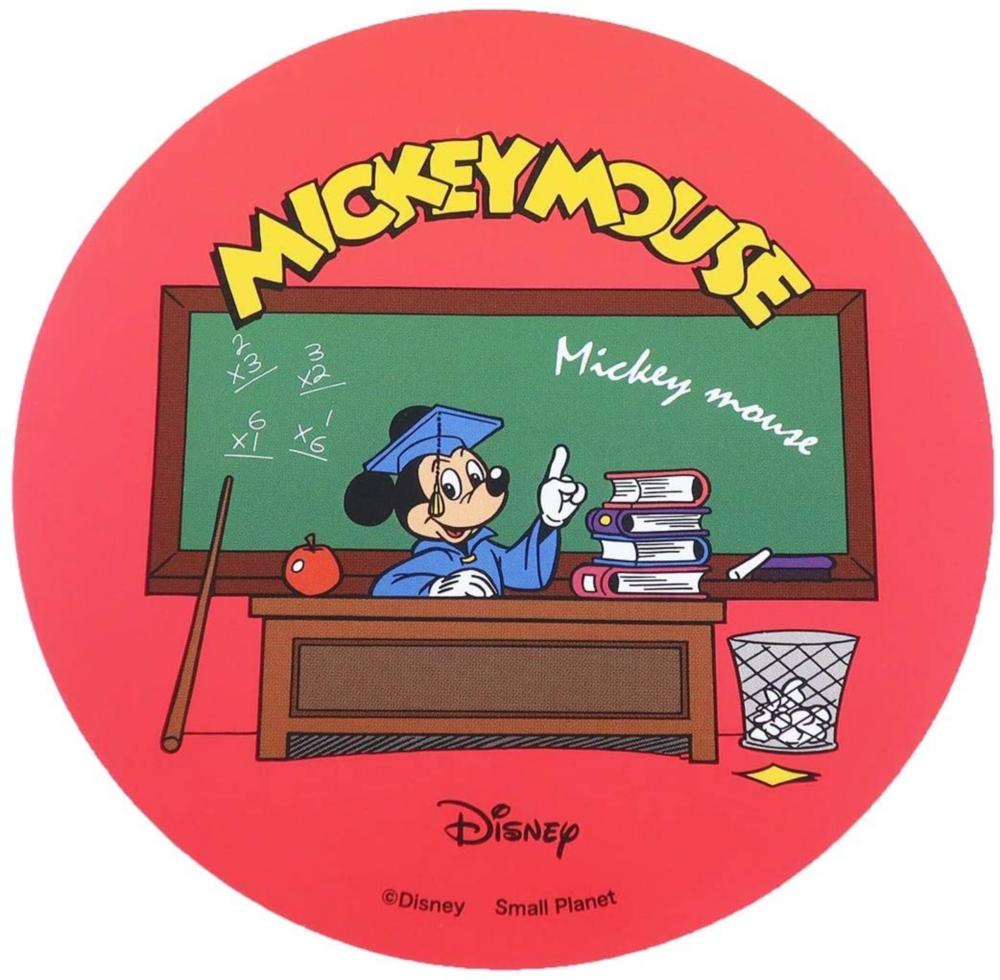 ノスタルジカ ダイカットステッカー ミッキー 教室