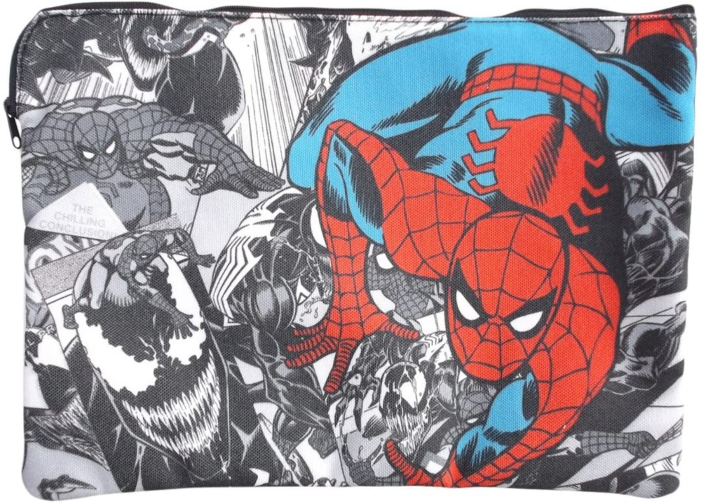 【 MARVEL 】マーベル ドキュメントポーチ ヴェノム&スパイダーマン