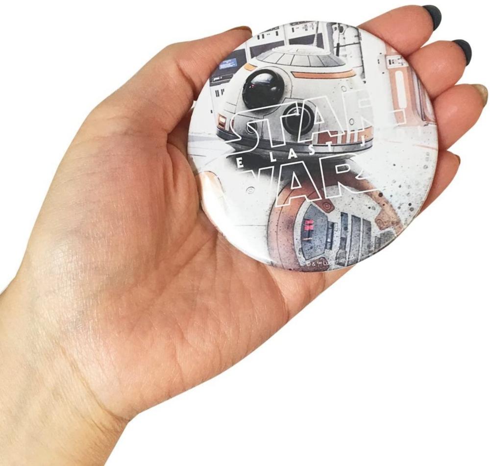 スター・ウォーズ 缶バッチ φ7.5cm エピソード8 BB-8