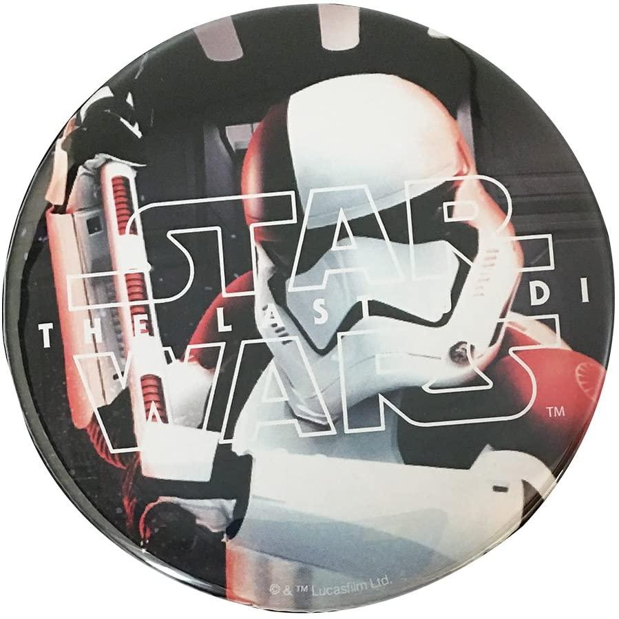 スター・ウォーズ 缶バッチ φ7.5cm エピソード8 ストームトルーパー
