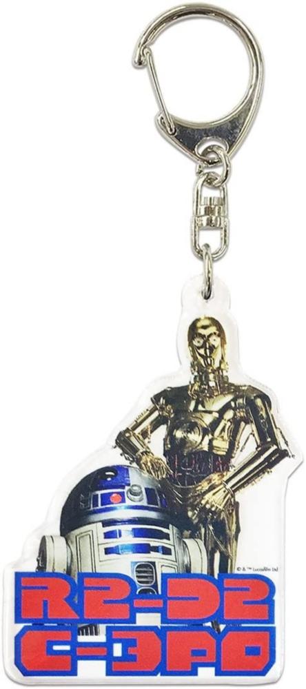 スター・ウォーズ アクリル キーホルダー C3-PO&R2-D2 02