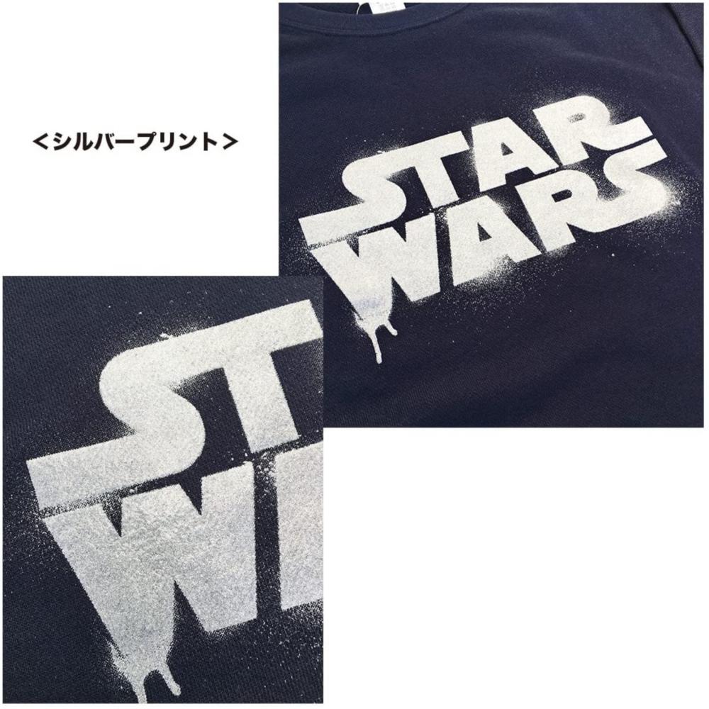 スター・ウォーズ スウェット STAR WARS ネイビー L
