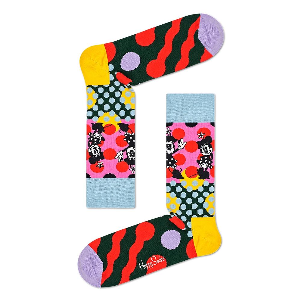 ミッキー&ミニー 靴下 レディース 4足セット ギフト