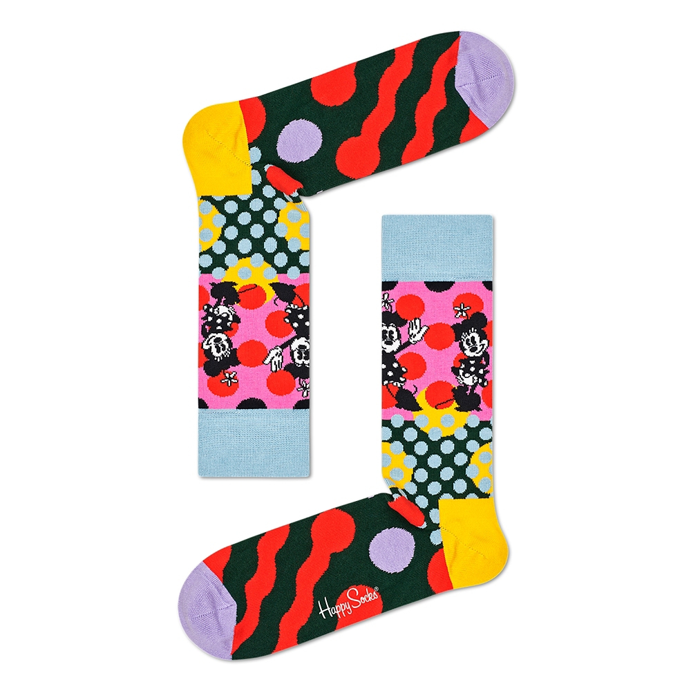 ミッキー&ミニー 靴下 メンズ 4足セット ギフト