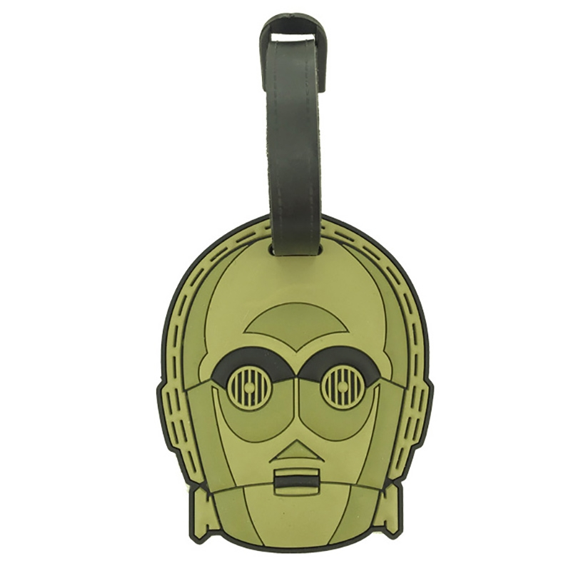 【HAPI+TAS】ラゲージタグ スター・ウォーズ C-3PO ダイカット