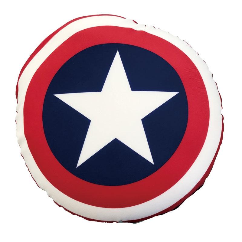 【HAPI+TAS】マーベル キャプテン・アメリカ ネックピロー 2WAY 2in1枕