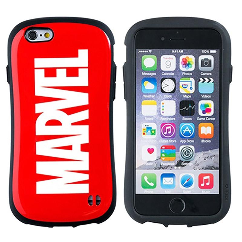 iPhone 7/8用スマホケース・カバー マーベル ロゴ レッド