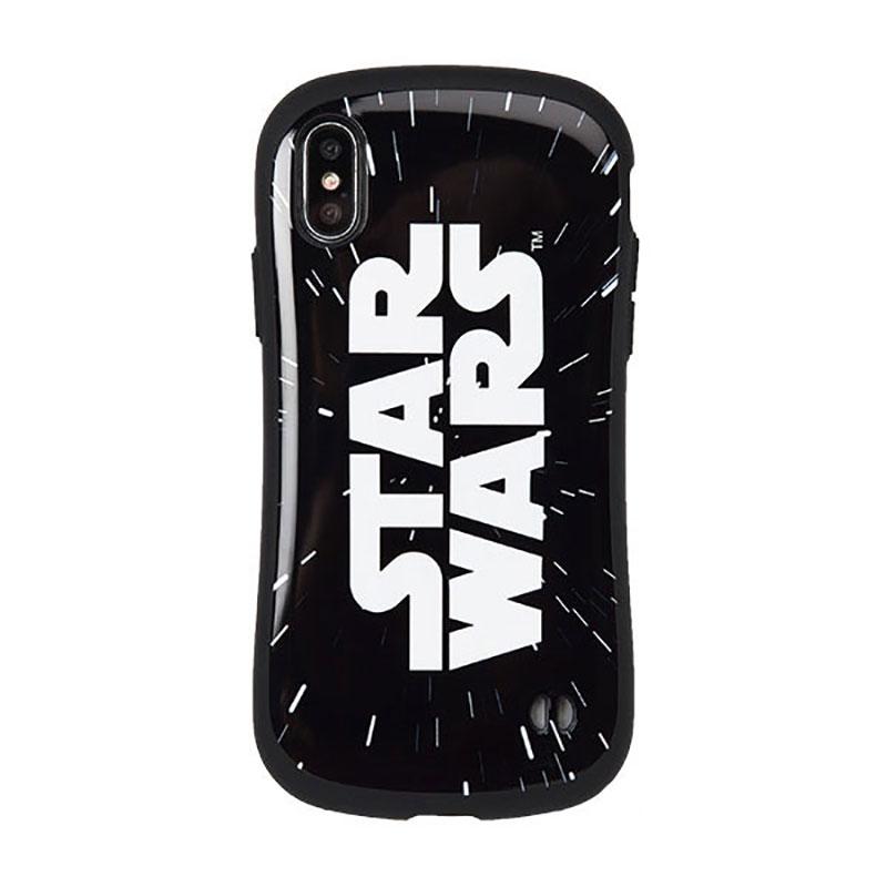 【iFace】iPhone X/XS用スマホケース・カバー スター・ウォーズ ロゴ Warp iFace First Classケース